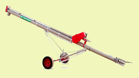 Mobile Screw Conveyors in Stainless Steel