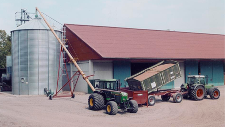 Augers for Grain Stores