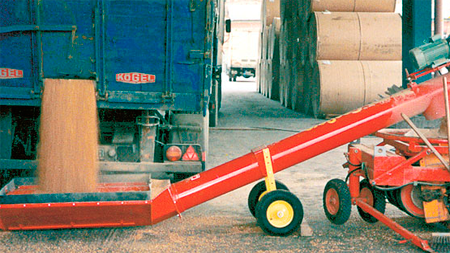 Mobile Transfer Augers